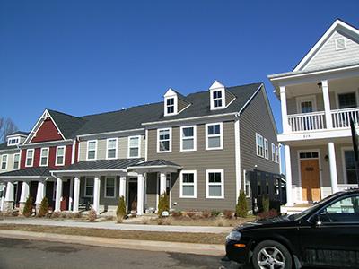 Townhouses in Albemarle County, Virginia