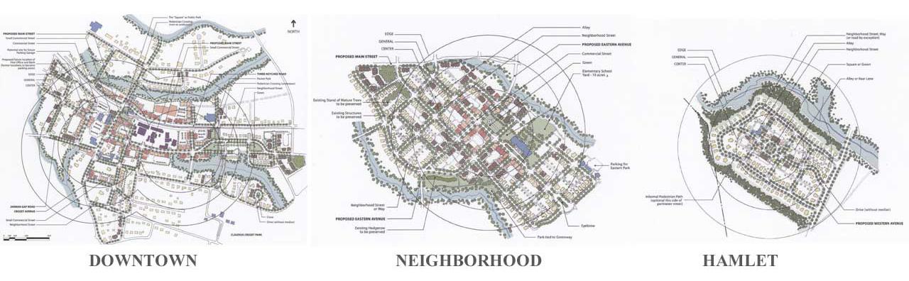 Crozet Downtown, neighborhood, hamlet