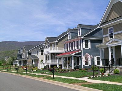 Old Trail residential neighborhood