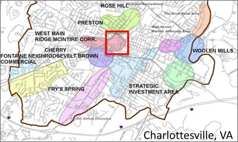 StarrHill Development area, Charlotesville